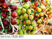 Купить «Декоративные фрукты», фото № 828491, снято 25 июня 2006 г. (c) Юлия Сайганова / Фотобанк Лори