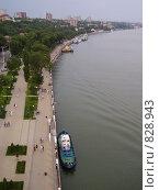 Набережная реки Дон (2008 год). Стоковое фото, фотограф Анастасия Иванова / Фотобанк Лори