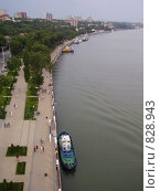 Купить «Набережная реки Дон», фото № 828943, снято 14 июня 2008 г. (c) Анастасия Иванова / Фотобанк Лори