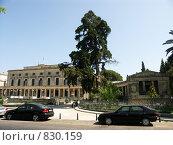Дворец и Музей Азиатского Искусства. Греция, о.Корфу (2008 год). Редакционное фото, фотограф Олег Гусев / Фотобанк Лори