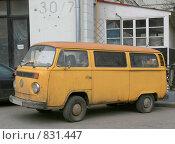 Купить «Микроавтобус Фольксваген», фото № 831447, снято 25 апреля 2009 г. (c) АЛЕКСАНДР МИХЕИЧЕВ / Фотобанк Лори