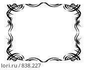 Космический стиль. Большая рамка. Стоковая иллюстрация, иллюстратор Фальковский Евгений / Фотобанк Лори