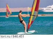 Купить «Серфинг на Красном море», фото № 840451, снято 18 ноября 2006 г. (c) Максим Иванов / Фотобанк Лори
