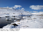 Купить «Река Эквиатап весной», фото № 842507, снято 30 апреля 2009 г. (c) Максим Деминов / Фотобанк Лори