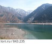 Озеро Иссык. Стоковое фото, фотограф Александр Патрушев / Фотобанк Лори