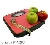 Купить «Яблочная диета, или как сбросить лишний вес», фото № 844283, снято 26 апреля 2009 г. (c) Инна Грязнова / Фотобанк Лори