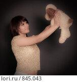 Купить «Девушка», фото № 845043, снято 3 мая 2009 г. (c) Машбиц Любовь Викторовна / Фотобанк Лори