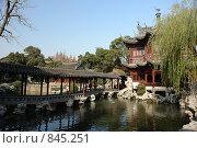 Купить «Сад Радости,г.Шанхай», фото № 845251, снято 18 декабря 2008 г. (c) Роман Чабан / Фотобанк Лори