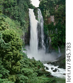 Водопад Мария Кристина. Стоковое фото, фотограф Leksele / Фотобанк Лори