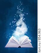 Купить «Книга магии Воздуха», иллюстрация № 854963 (c) Лукиянова Наталья / Фотобанк Лори