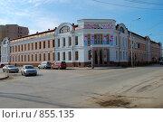 Якутск. Здание национального художественного музея (2009 год). Редакционное фото, фотограф Юрий Бульший / Фотобанк Лори