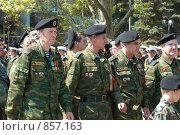 Купить «Военный парад, 9 мая 2009 года. Севастополь, Украина», фото № 857163, снято 9 мая 2009 г. (c) Павел Вахрушев / Фотобанк Лори