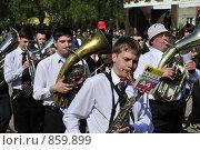 Купить «Школьный духовой оркестр», фото № 859899, снято 9 мая 2009 г. (c) Ульянов Александр Михайлович / Фотобанк Лори