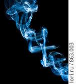 Купить «Дым на черном фоне», фото № 863003, снято 16 сентября 2007 г. (c) Алексей Ухов / Фотобанк Лори