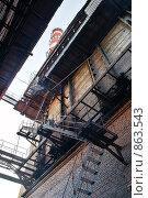Купить «Котельная», фото № 863543, снято 16 сентября 2007 г. (c) Максим Иванов / Фотобанк Лори