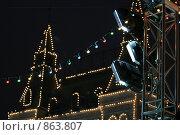 Фонари. Стоковое фото, фотограф Муравьев Андрей / Фотобанк Лори