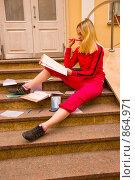 Купить «Зачетная неделя в университете», фото № 864971, снято 5 мая 2009 г. (c) Олег Тыщенко / Фотобанк Лори
