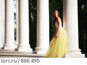 Купить «Великолепная невеста», фото № 866495, снято 3 июля 2008 г. (c) Astroid / Фотобанк Лори