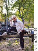 Купить «Портрет девушки», фото № 867195, снято 26 апреля 2009 г. (c) Андрей Ганночка / Фотобанк Лори