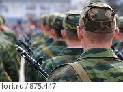Купить «Солдаты», фото № 875447, снято 9 мая 2009 г. (c) Александр Подшивалов / Фотобанк Лори