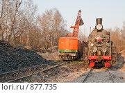 Купить «Паровозное депо. Угольный отстойник», фото № 877735, снято 29 апреля 2009 г. (c) Павел Гаврилов / Фотобанк Лори