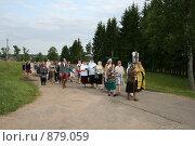 Крестный ход.Фирово (2008 год). Редакционное фото, фотограф Анна Дегтярёва / Фотобанк Лори