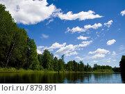 Купить «Река Сосьва. Северный Урал», фото № 879891, снято 22 июня 2008 г. (c) Максим Антипин / Фотобанк Лори