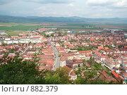Купить «Панорама городка Рышнов, Румыния», фото № 882379, снято 6 мая 2008 г. (c) Истомина Елена / Фотобанк Лори