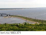 Купить «Подъезд к мосту через Волгу. г. Ульяновск», фото № 883371, снято 23 мая 2009 г. (c) Андрияшкин Александр / Фотобанк Лори