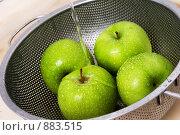 Яблоки. Стоковое фото, фотограф Liudmila Belyaeva / Фотобанк Лори