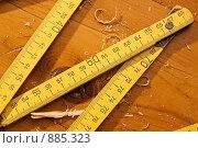 Рулетка плотника. Стоковое фото, фотограф Кравецкий Геннадий / Фотобанк Лори