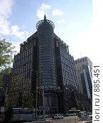Пекин. Высотное здание (2009 год). Редакционное фото, фотограф Александр Солдатенко / Фотобанк Лори
