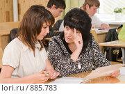 Купить «Учитель старших классов. Думать надо!», фото № 885783, снято 15 мая 2009 г. (c) Федор Королевский / Фотобанк Лори