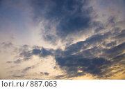Купить «Небо вечером», фото № 887063, снято 16 мая 2009 г. (c) Ирина Литвин / Фотобанк Лори