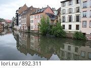 Каналы Страсбурга (2009 год). Стоковое фото, фотограф Igor Kaplan / Фотобанк Лори
