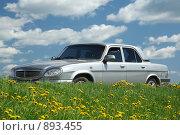 Автомобиль Волга ГАЗ-31105 (2009 год). Редакционное фото, фотограф Сергей / Фотобанк Лори