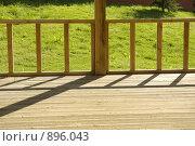 Купить «Фрагмент летней беседки», фото № 896043, снято 12 мая 2009 г. (c) Natalya Sidorova / Фотобанк Лори