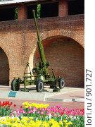 Купить «Выставка военной техники в Нижегородском кремле», фото № 901727, снято 28 мая 2009 г. (c) Саломатников Владимир / Фотобанк Лори