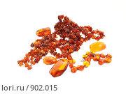 Купить «Янтарные бусы и броши», фото № 902015, снято 27 мая 2009 г. (c) Анастасия Золотницкая / Фотобанк Лори