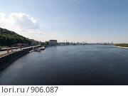 Купить «Река Днепр в г.Киев», фото № 906087, снято 3 мая 2009 г. (c) Никончук Алексей / Фотобанк Лори