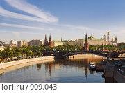 Купить «Московский Кремль и Государственная Дума», фото № 909043, снято 27 мая 2009 г. (c) Сергей Яковлев / Фотобанк Лори