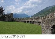 Внутри замка Castelgrande. Беллинцона (Bellinzona), Швейцария. Кантон Тичино, фото № 910591, снято 26 сентября 2017 г. (c) GrayFox / Фотобанк Лори