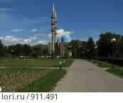 Купить «Мечеть», фото № 911491, снято 9 июня 2009 г. (c) Зуев Андрей / Фотобанк Лори