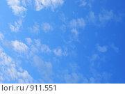 Голубое небо. Стоковое фото, фотограф Роман Смирнов / Фотобанк Лори