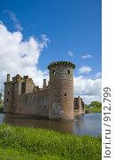 Замок Керлаверок, Шотландия (2009 год). Стоковое фото, фотограф Tamara Kulikova / Фотобанк Лори