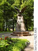 Купить «Памятник героям Отечественной войны 1812 года (Вязьма, Смоленская область)», фото № 921643, снято 12 июня 2009 г. (c) Дмитрий Яковлев / Фотобанк Лори