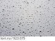 Капли дождя на стекле. Стоковое фото, фотограф Минаев С.Г. / Фотобанк Лори