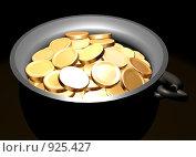 Купить «Золото в котле», иллюстрация № 925427 (c) Фальковский Евгений / Фотобанк Лори