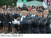 Купить «Девушки - курсанты МВД», эксклюзивное фото № 926411, снято 12 июня 2009 г. (c) Free Wind / Фотобанк Лори