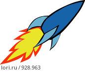Купить «Ракета», иллюстрация № 928963 (c) Дмитрий Ростовцев / Фотобанк Лори